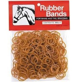MANE BRAIDING BANDS- silicone-BROWN - 65-2241-CH (don't reorder)