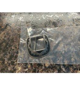 """SNAP* Buckle Plains Indn Heel Bar Buckle - 05790-BS-3/4"""""""