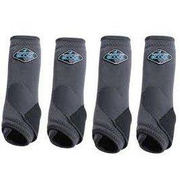 2XCOOL - Sports Medicine Boots - Charcoal -*pack of 4*Medium - XC4M-CHA