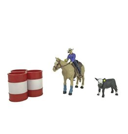 Big Country Toys All Around Cowgirl- BC411 ***Back Ordered***
