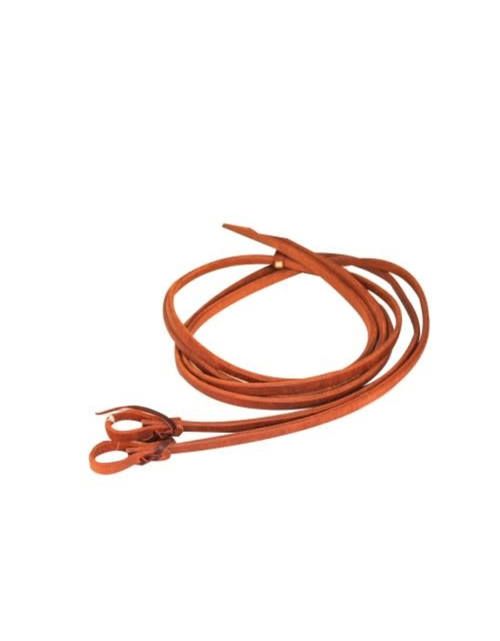 1/2' Oiled Harness Leather Rein with Heavy End - #212878-57