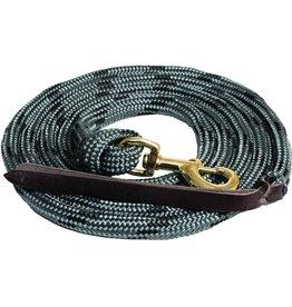 Cowboy Poly Lead Rope - Grey/Blk - #292648-78