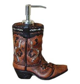 Soap dispenser- Cowboy boot Soap Pump- 87-1221-0-0