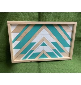Wooden sign- Quilt pattern