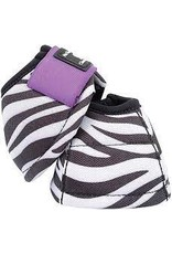 DYNO Bell Boots - Medium - Zebra w/ Purple #CR/DNDL16-MD/ZP