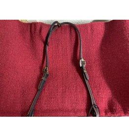 HEAD* Headstall - one ear - basket weave w/floral buckle 100826-58, STTSE20