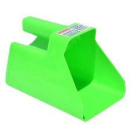 PAIL* TuffStuff Enclosed Square Scoop - Green - 674212