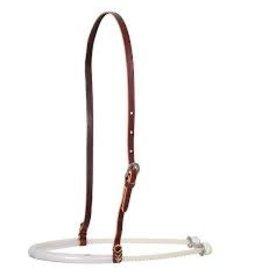 HEAD*single rope noseband w/rubber tube cover- CR/NB100SRPT