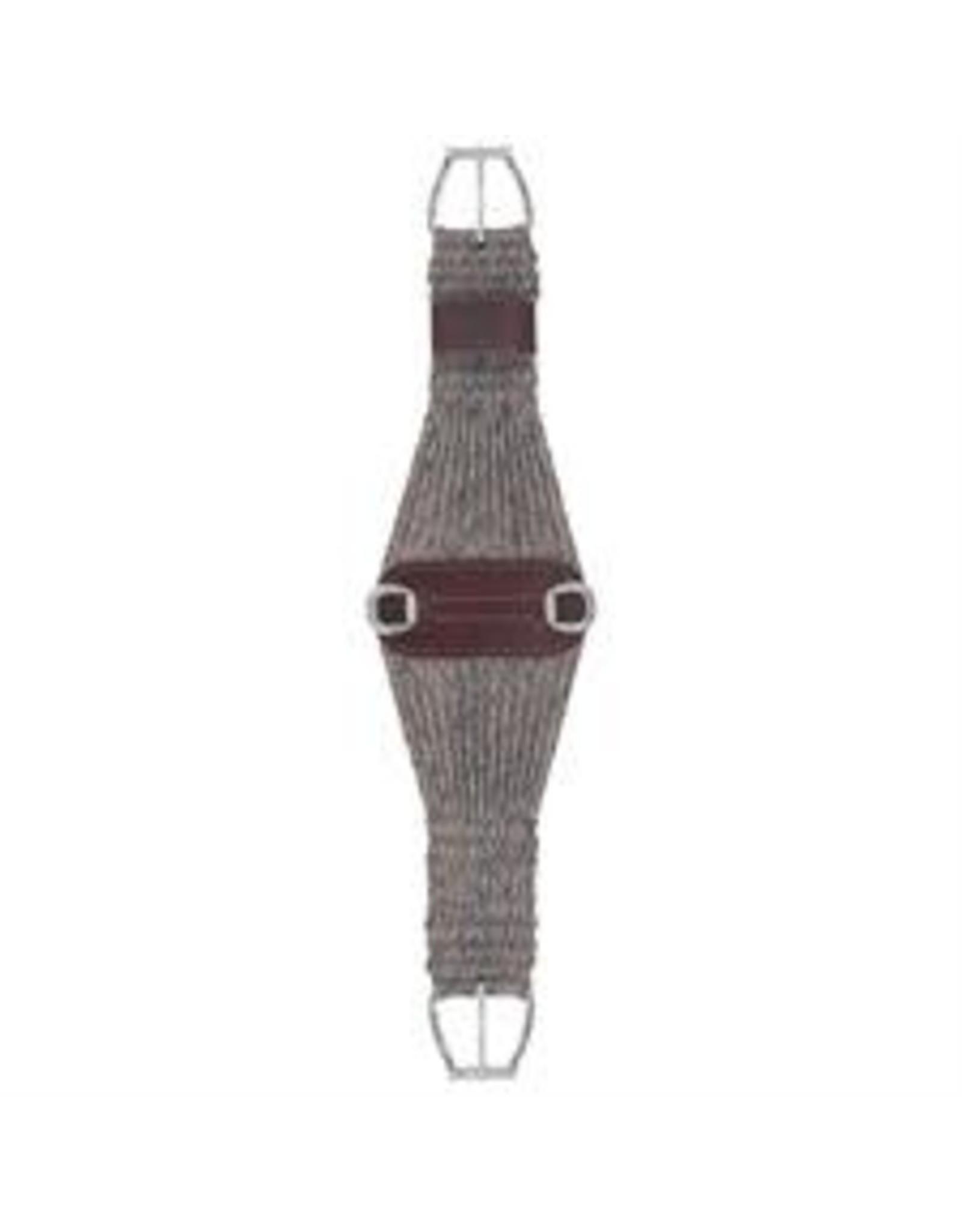 CIN* 100% Alpaca Roper Cinch 32''  35-2439-32   AAAA*P (fancy roller buckles and one side leather cinch holder)