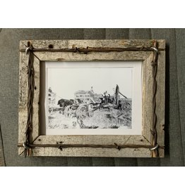 Picture Frame- Barn wood- 6X8