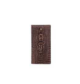 Montana West* Genuine Leather Collection Men's Wallet - Coffee - RFID-W009 CF
