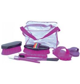 Grooming kit w/bag pink 374472-36