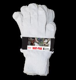 Watson Gloves Gloves*Watpak 6pk White Knight-L 603