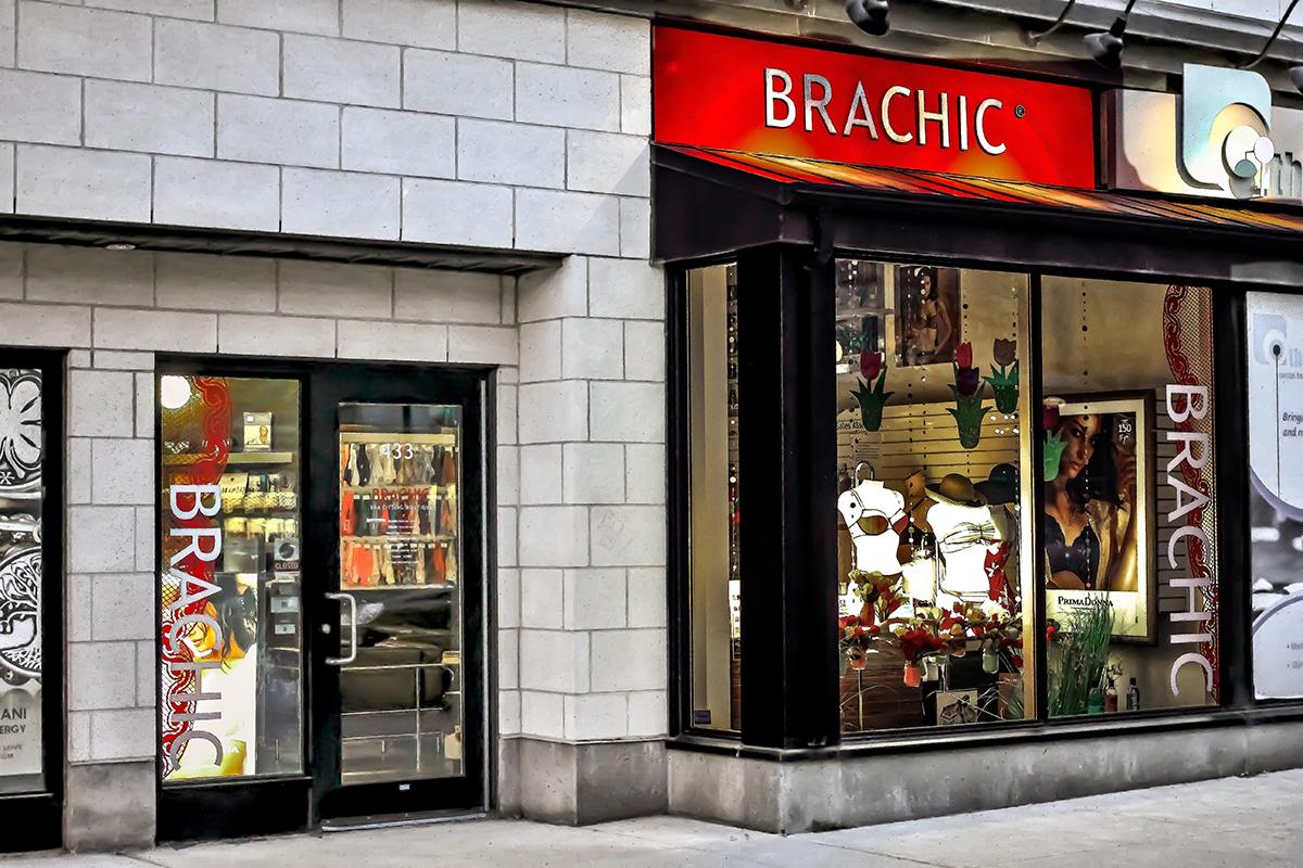 Brachic Outside view of the Brachic store