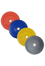 PROMAXIMA PROMAXIMA Rubber Olympic Bumper Plates Color Coded