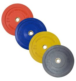 PROMAXIMA PROMAXIMA Rubber Olympic Bumper Plates Color Coded
