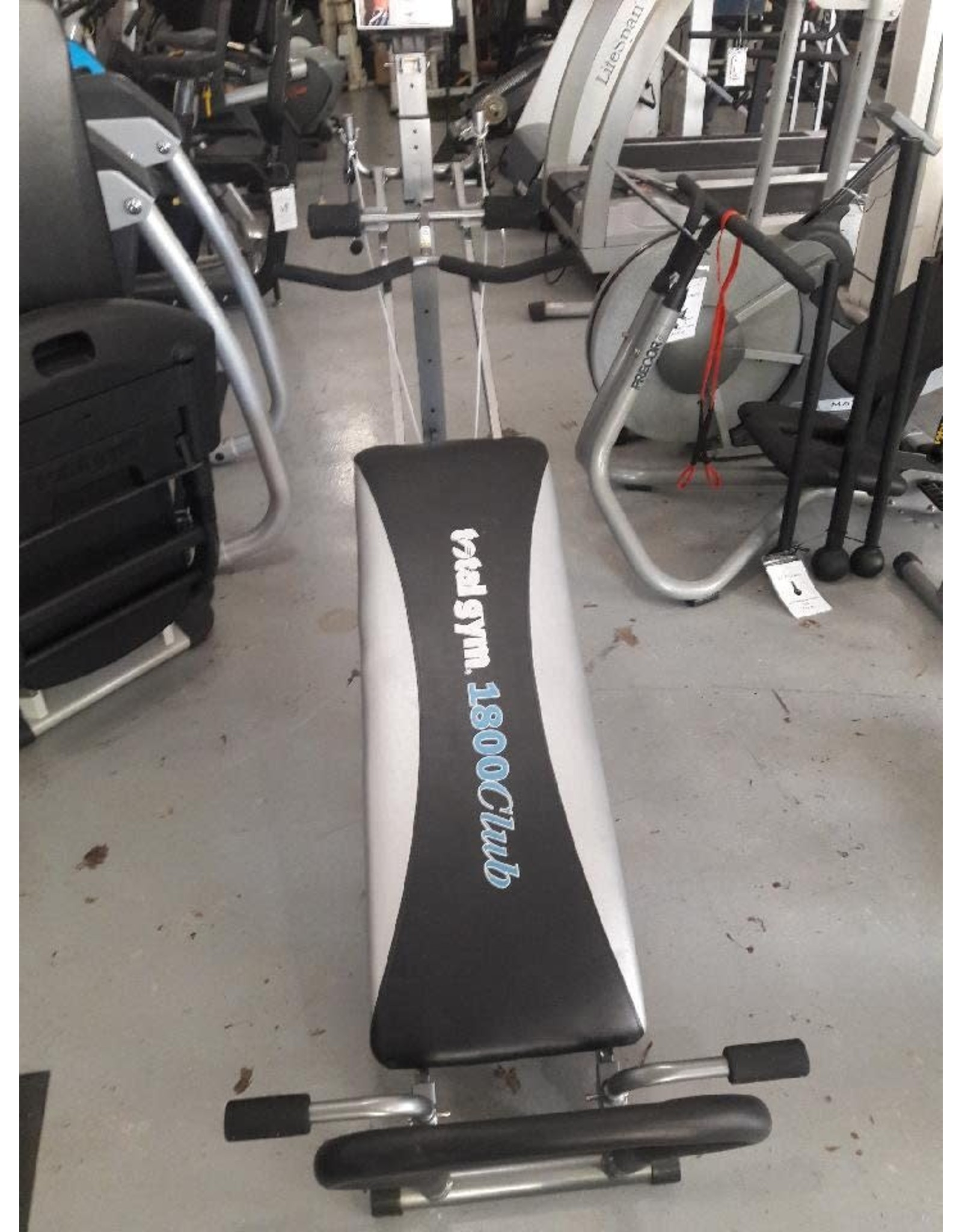 Total Gym Total Gym  - 1800 Club ( comes with 7 attachments)