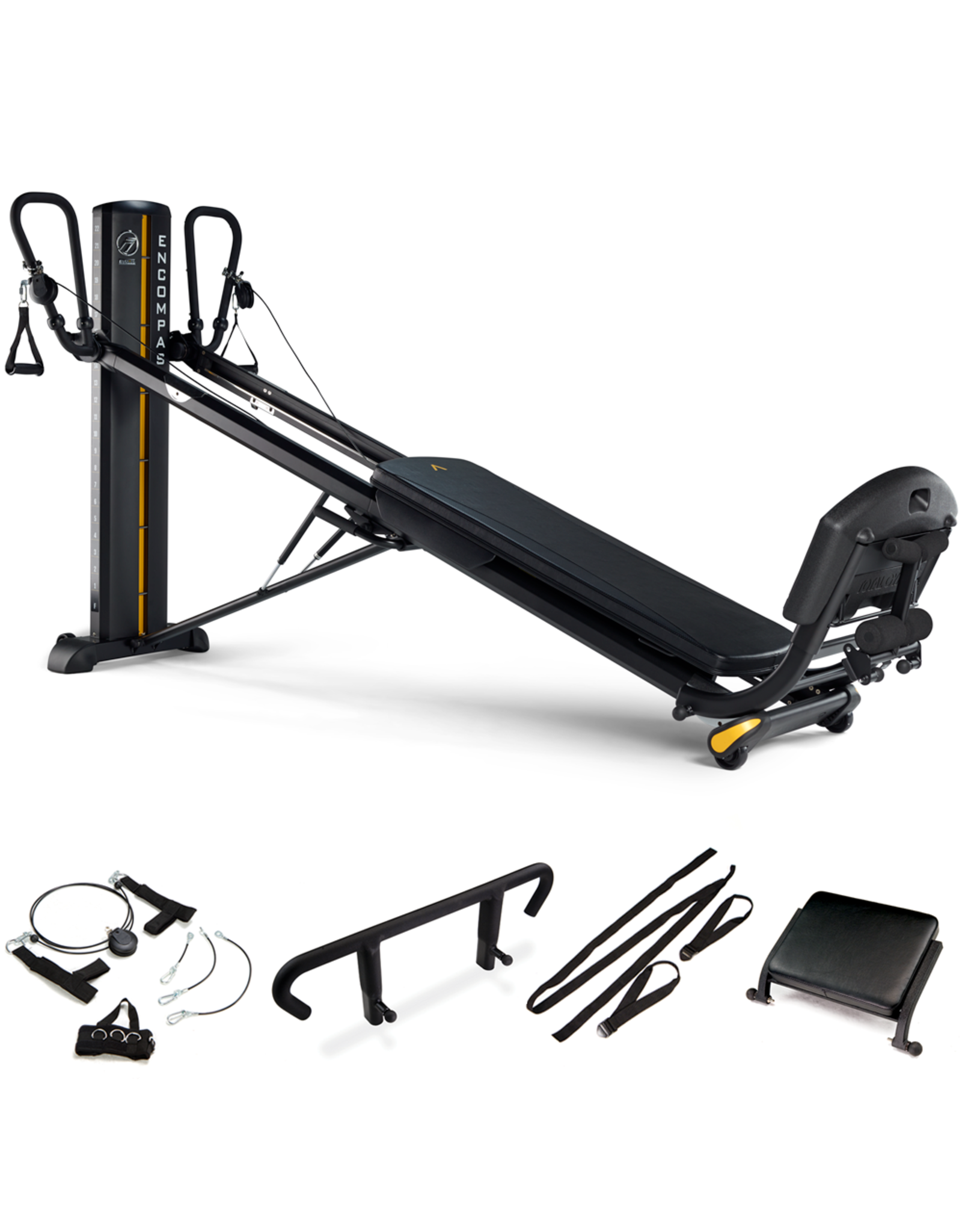 Total Gym Total Gym -Elevate Encompass Pilates Package