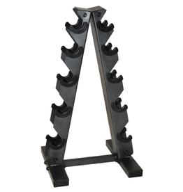 CAP CAP A-Style Dumbbell Metal Rack Black