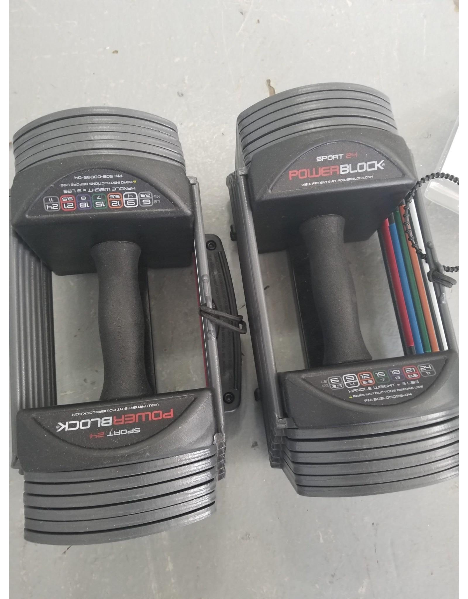 PowerBlock PowerBlock - Sport 24 Dumbell pair
