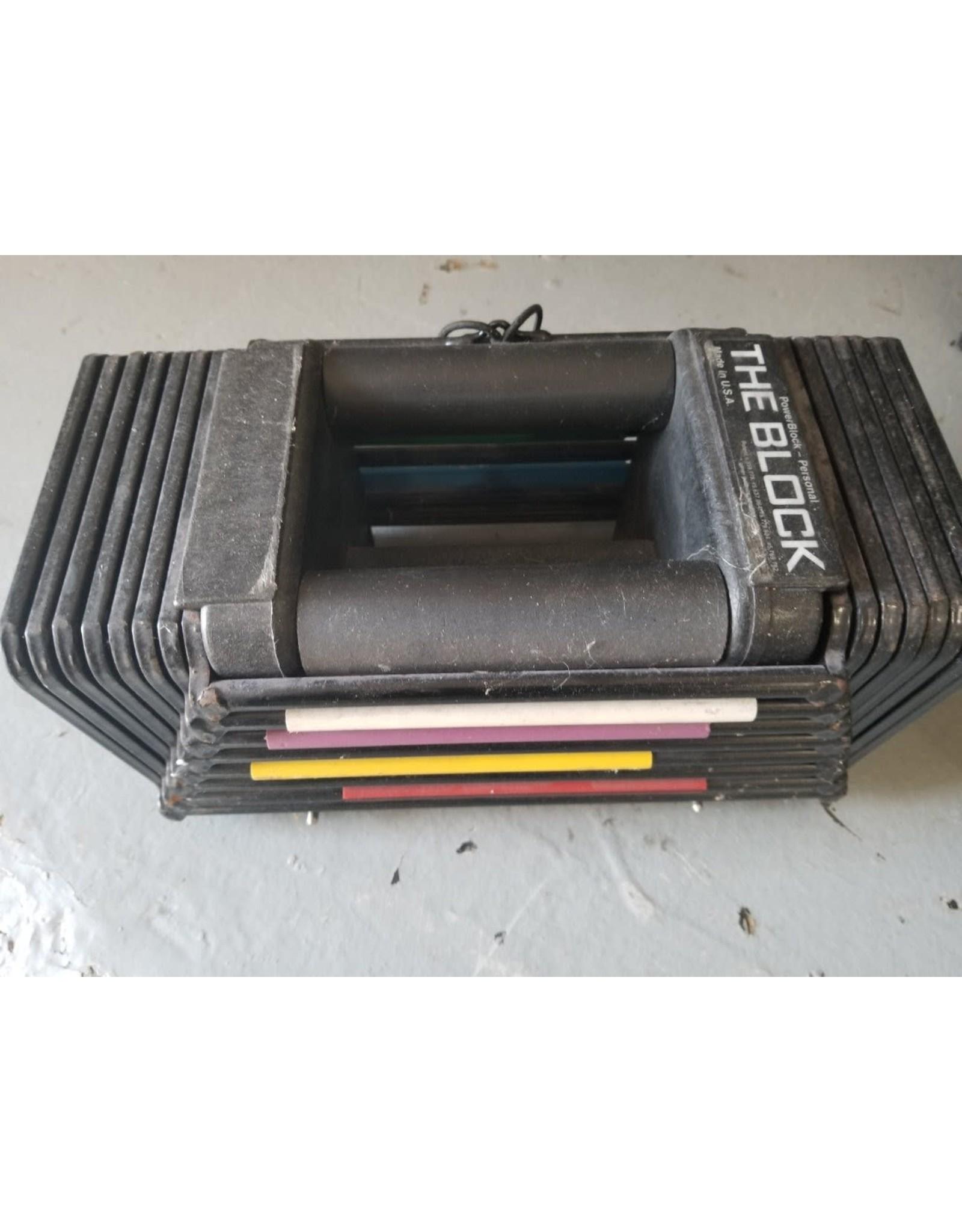 PowerBlock PowerBlock - Adjustable 45 lb pair