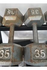 Misc Steel Hex Dumbbells