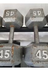Unbranded Steel Hex Dumbbells