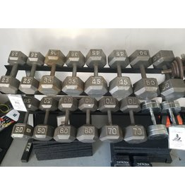 Unbranded Steel Hex Dumbbells