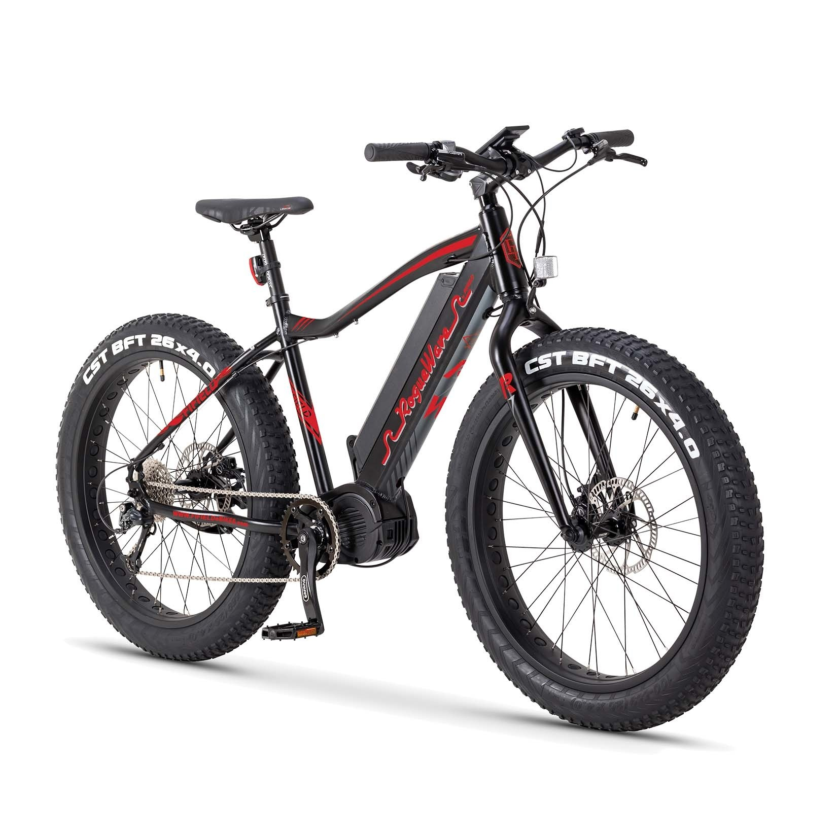 Fifield eBikes Rogue Wave 750 Black-Red