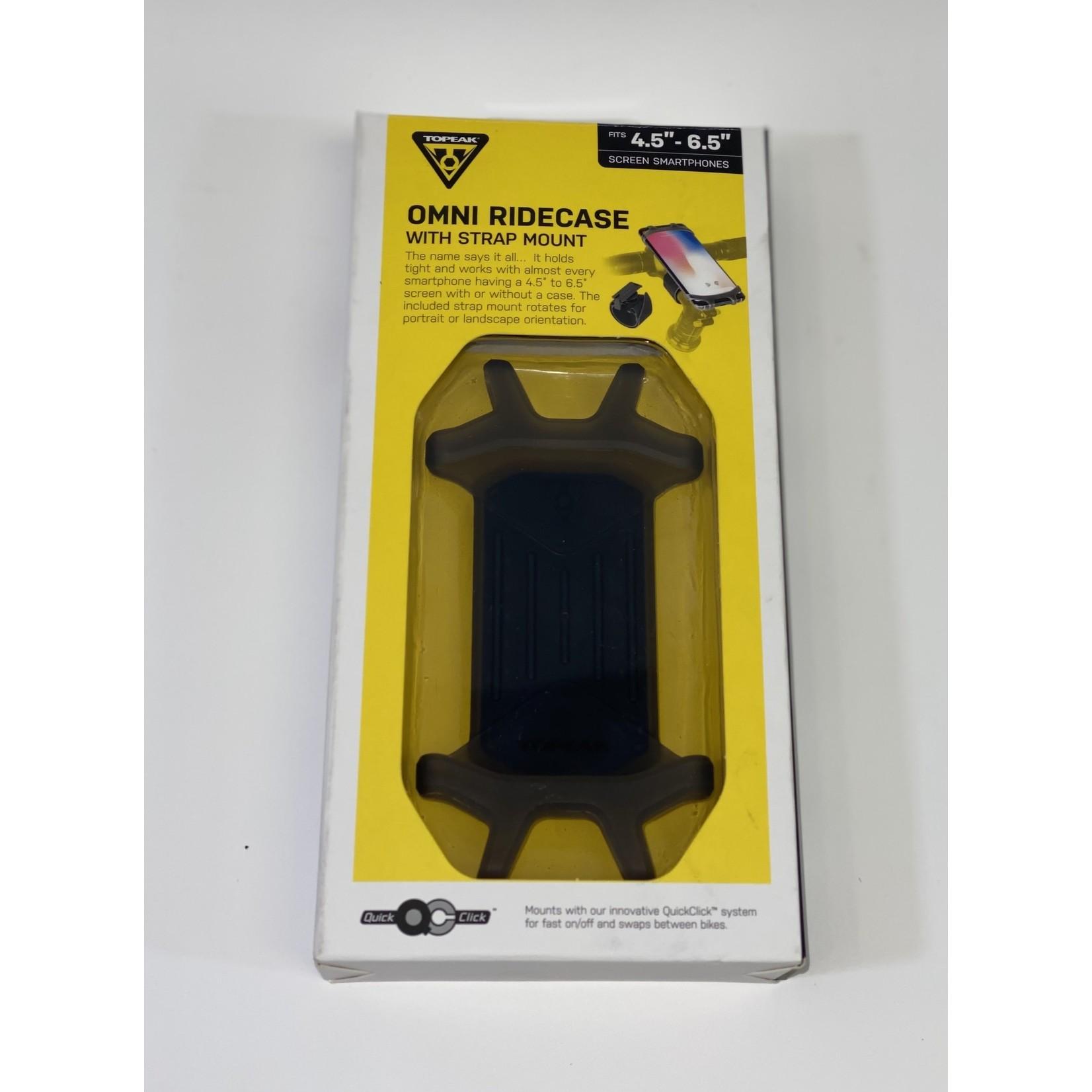 Topeak HBAR MOUNT TOPEAK PHONE OMNI RIDECASE w/