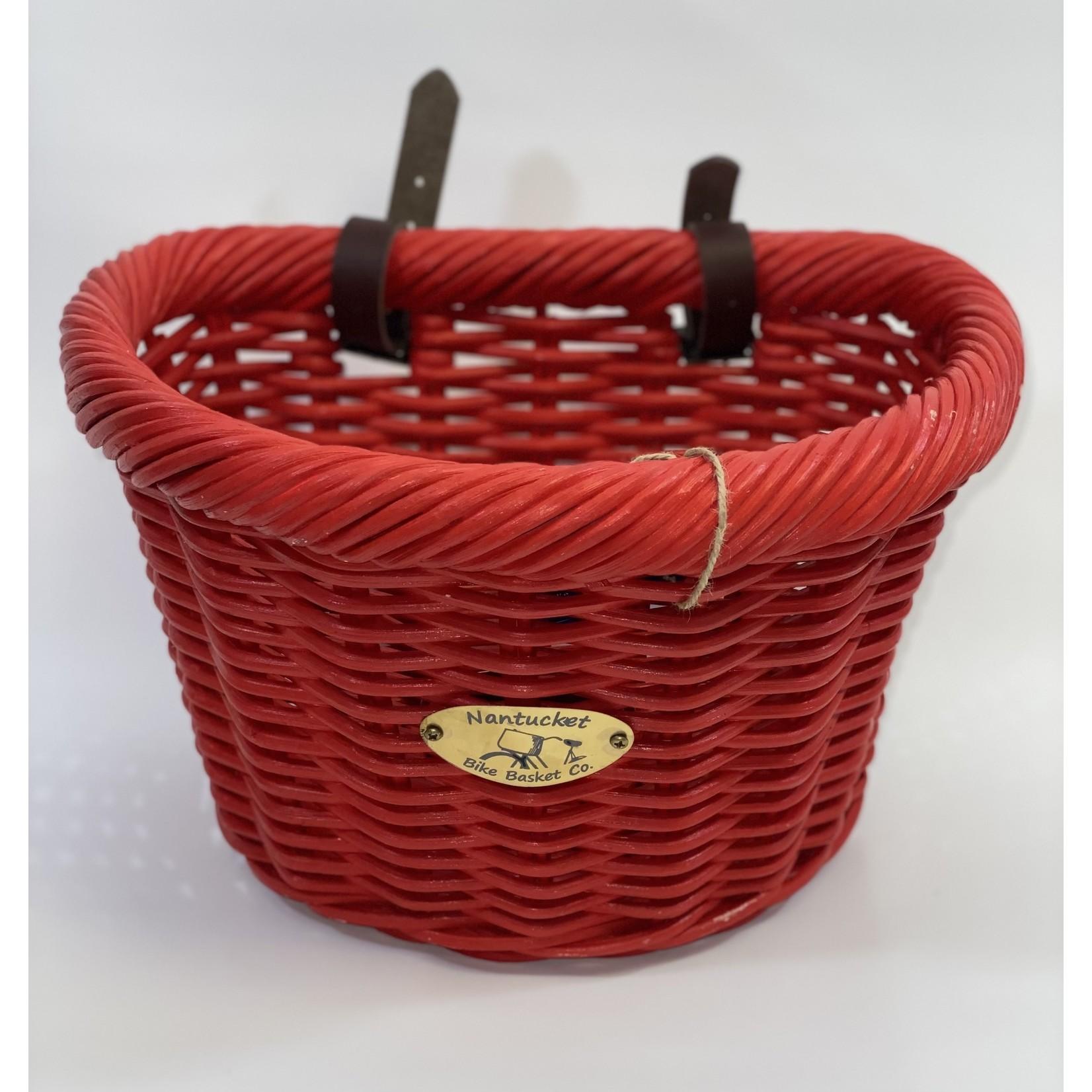 Nantucket Bike Basket Co. Basket - Nantucket Cruiser D Red