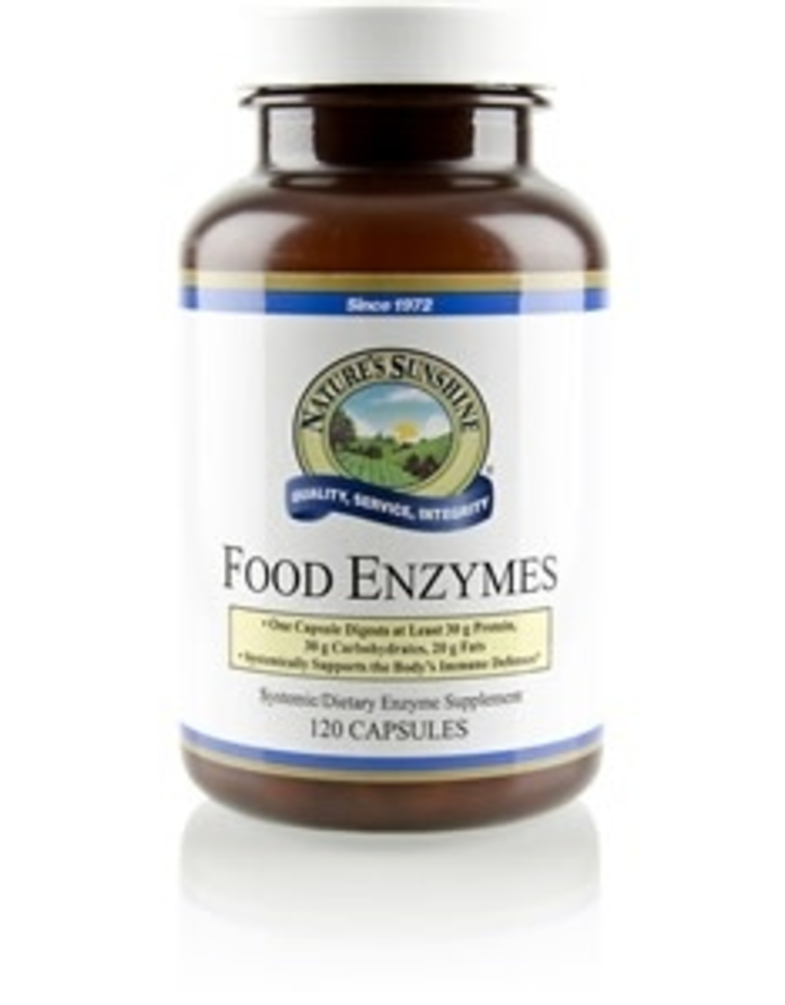 Nature's Sunshine Food Enzymes (120 caps)