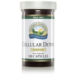 Nature's Sunshine Cellular Detox (100 caps) (formerly known as All Cell Detox) (ko)