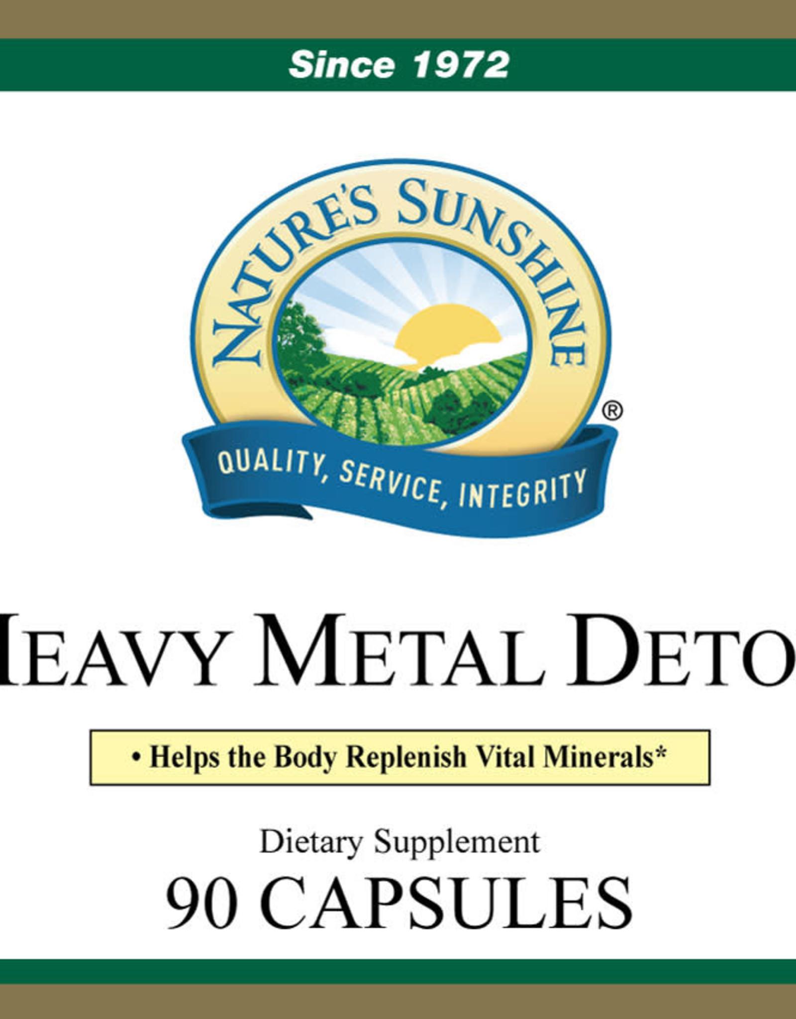 Nature's Sunshine Heavy Metal Detox (90 caps)