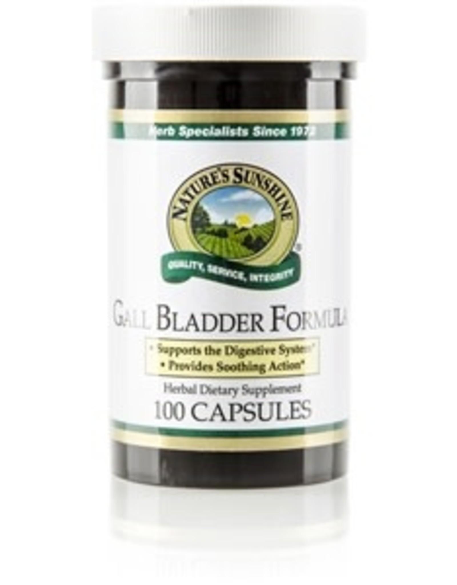 Nature's Sunshine Gall Bladder Formula (100 caps)*