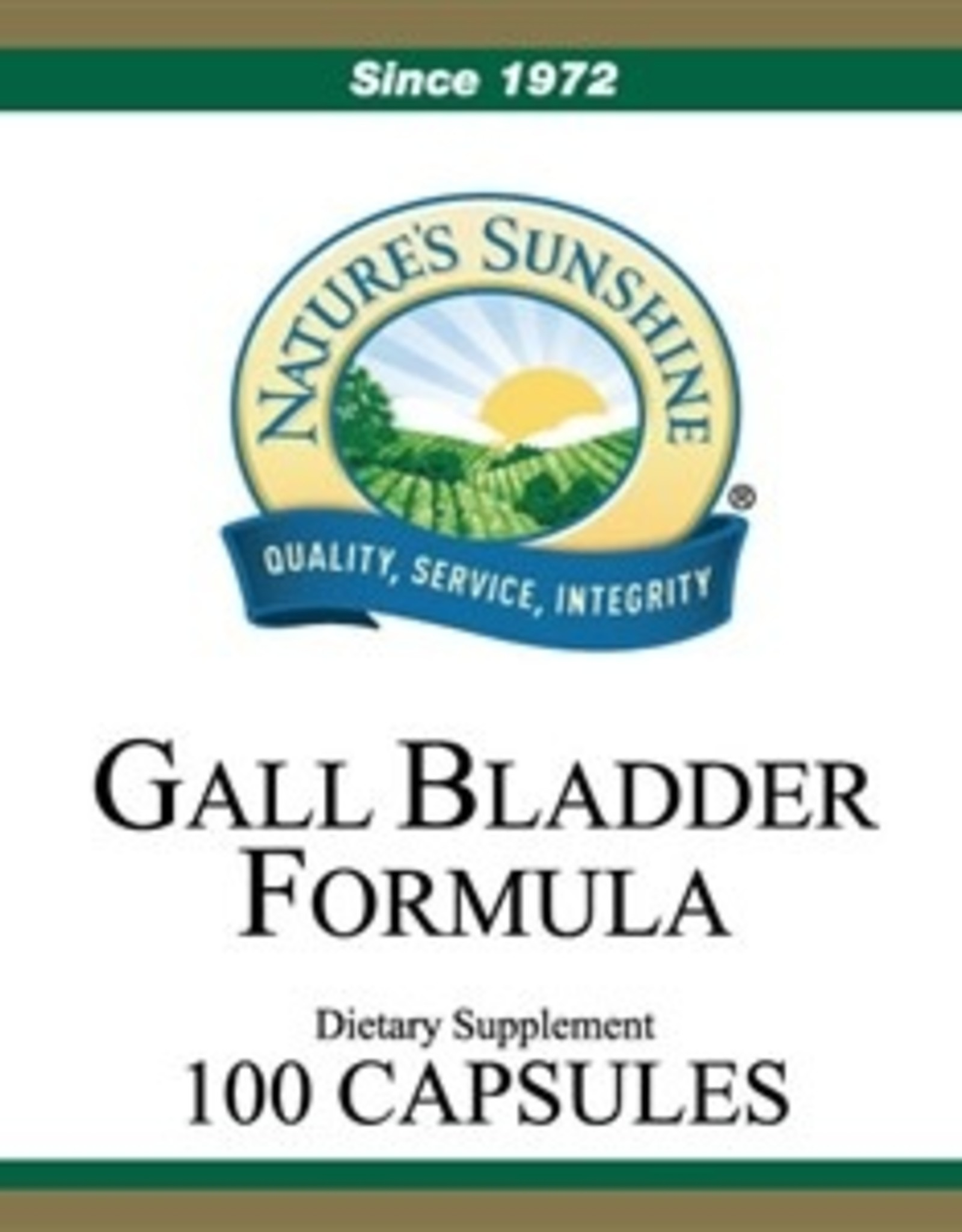 Gall Bladder Formula (100 caps) (ko)