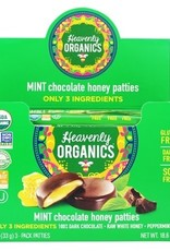Heavenly Organics Mint Chocolate Honey Pattie