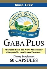 Nature's Sunshine GABA Plus (60 caps)