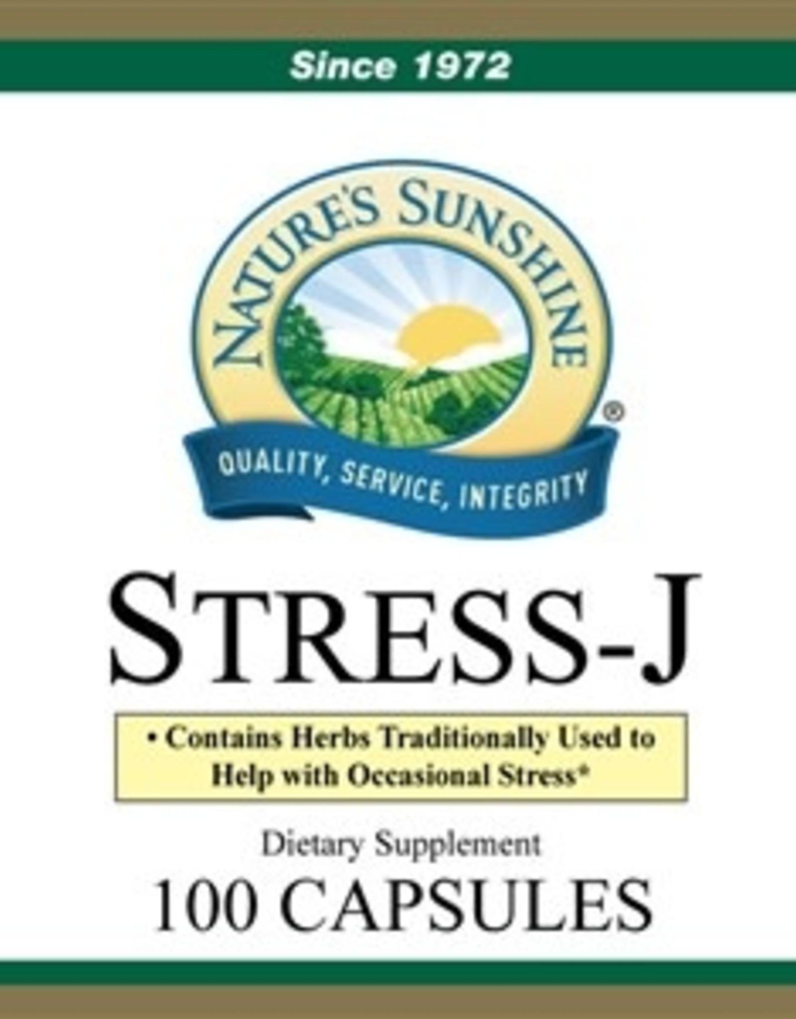 Nature's Sunshine Stress-J (100 caps)