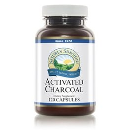 Nature's Sunshine Charcoal (Activated) (120 caps) (ko)
