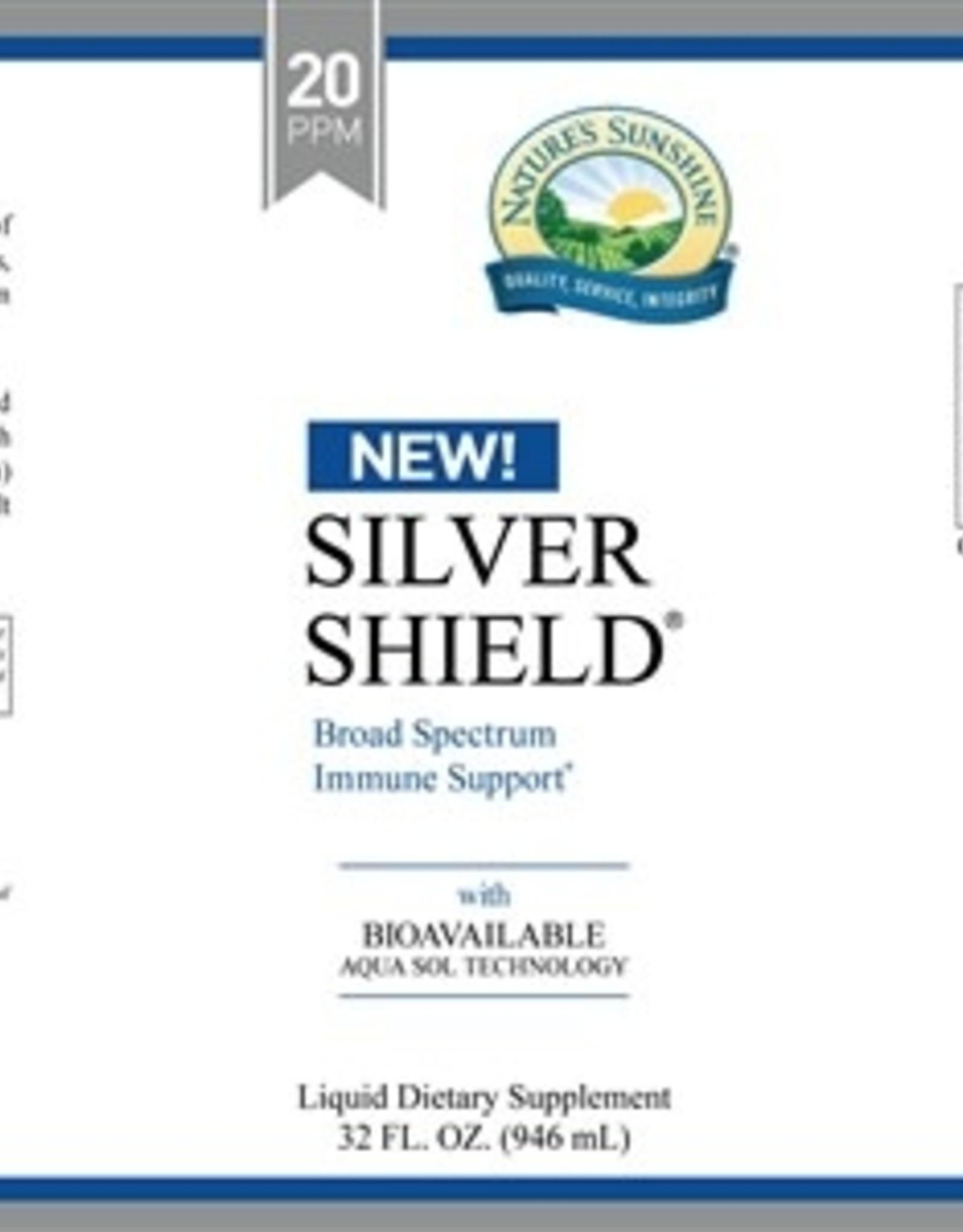Nature's Sunshine Silver Shield w/ Aqua Sol