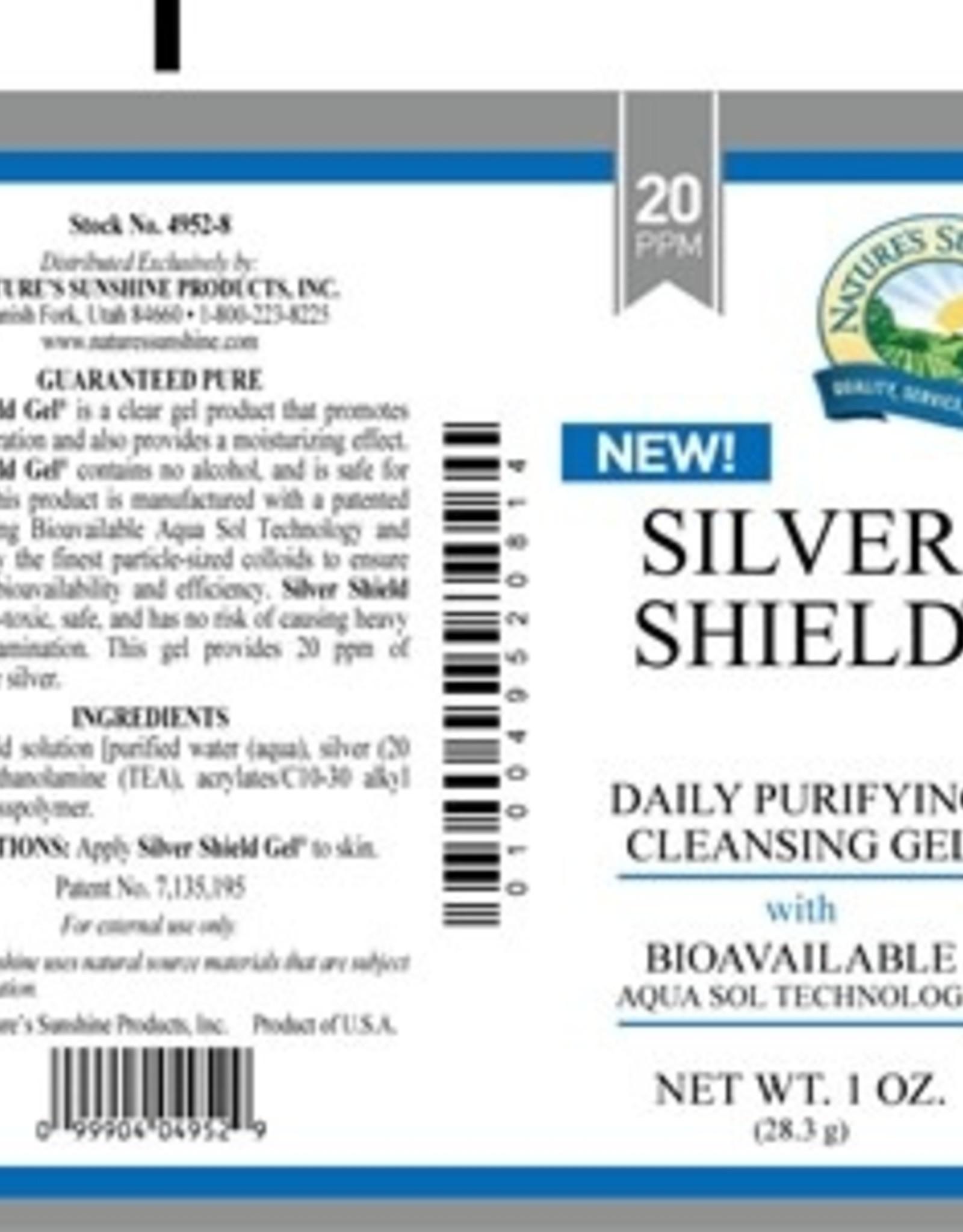 Nature's Sunshine Silver Shield Gel