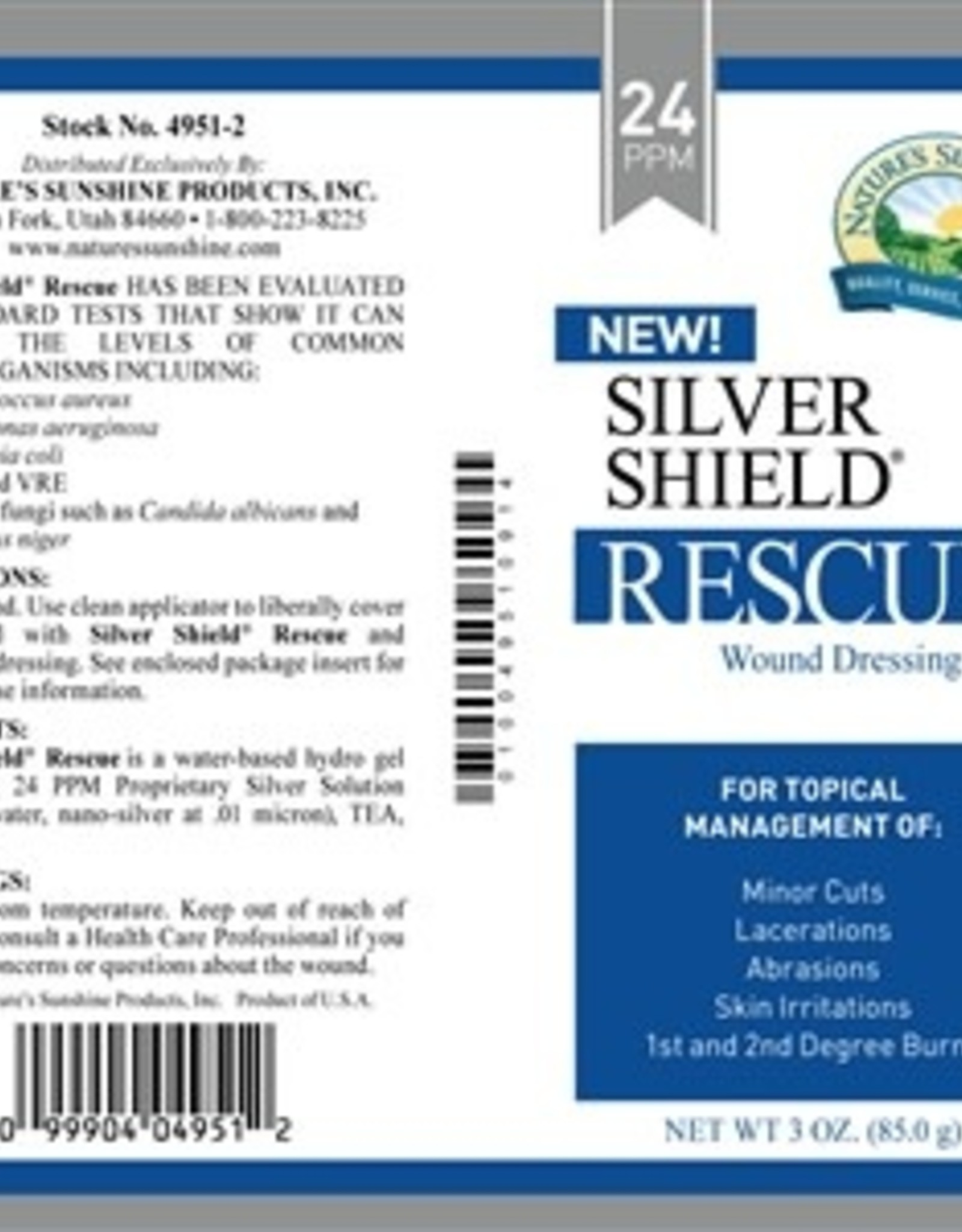 Nature's Sunshine SIlver Shield RESCUE