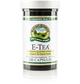 Nature's Sunshine E-Tea (100 caps) (ko)