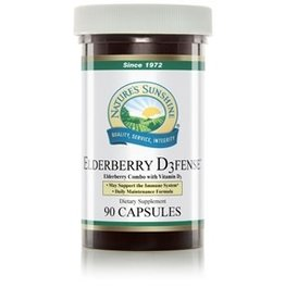 Nature's Sunshine Elderberry D3fense (90 caps)