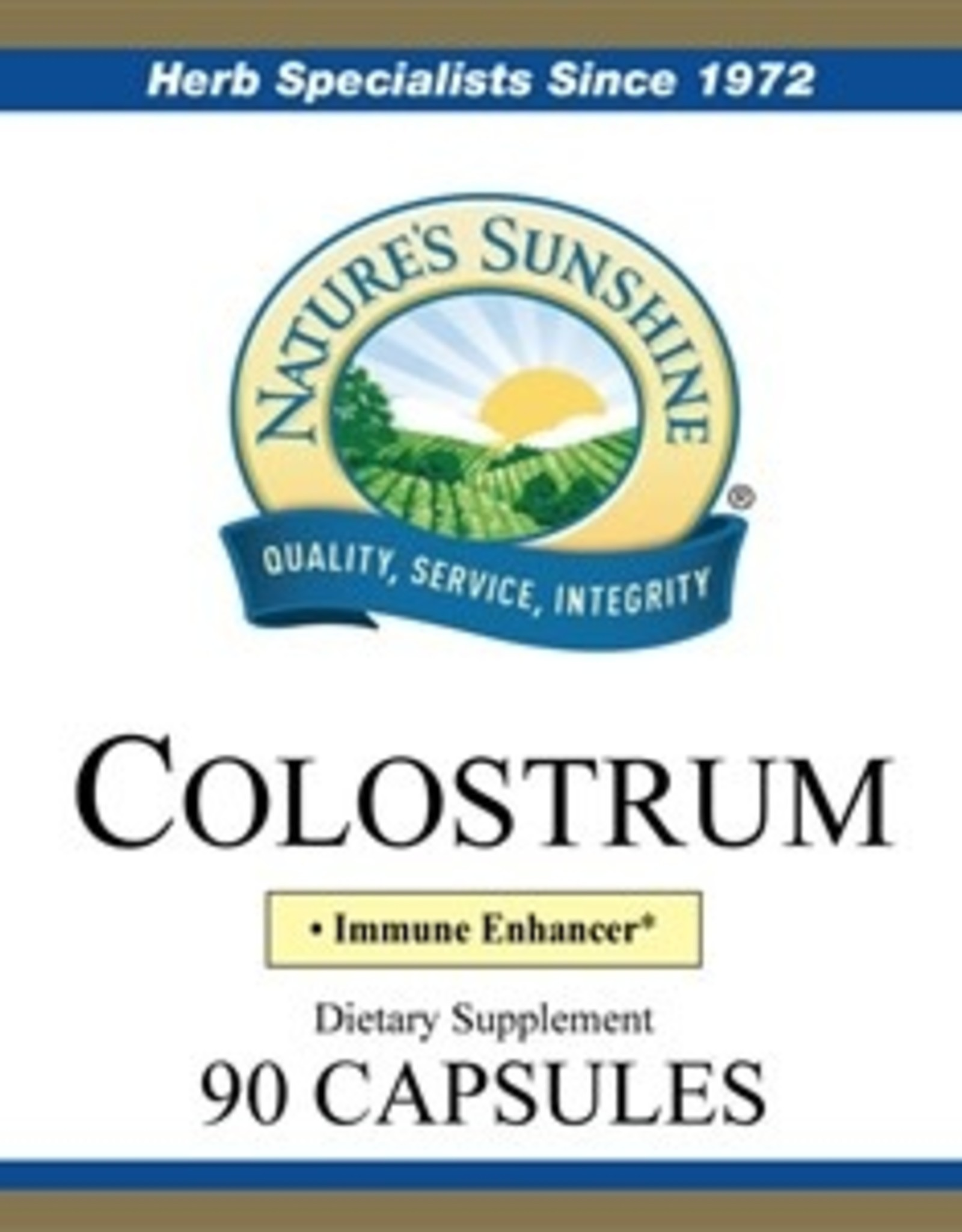 Nature's Sunshine Colostrum (90 caps)