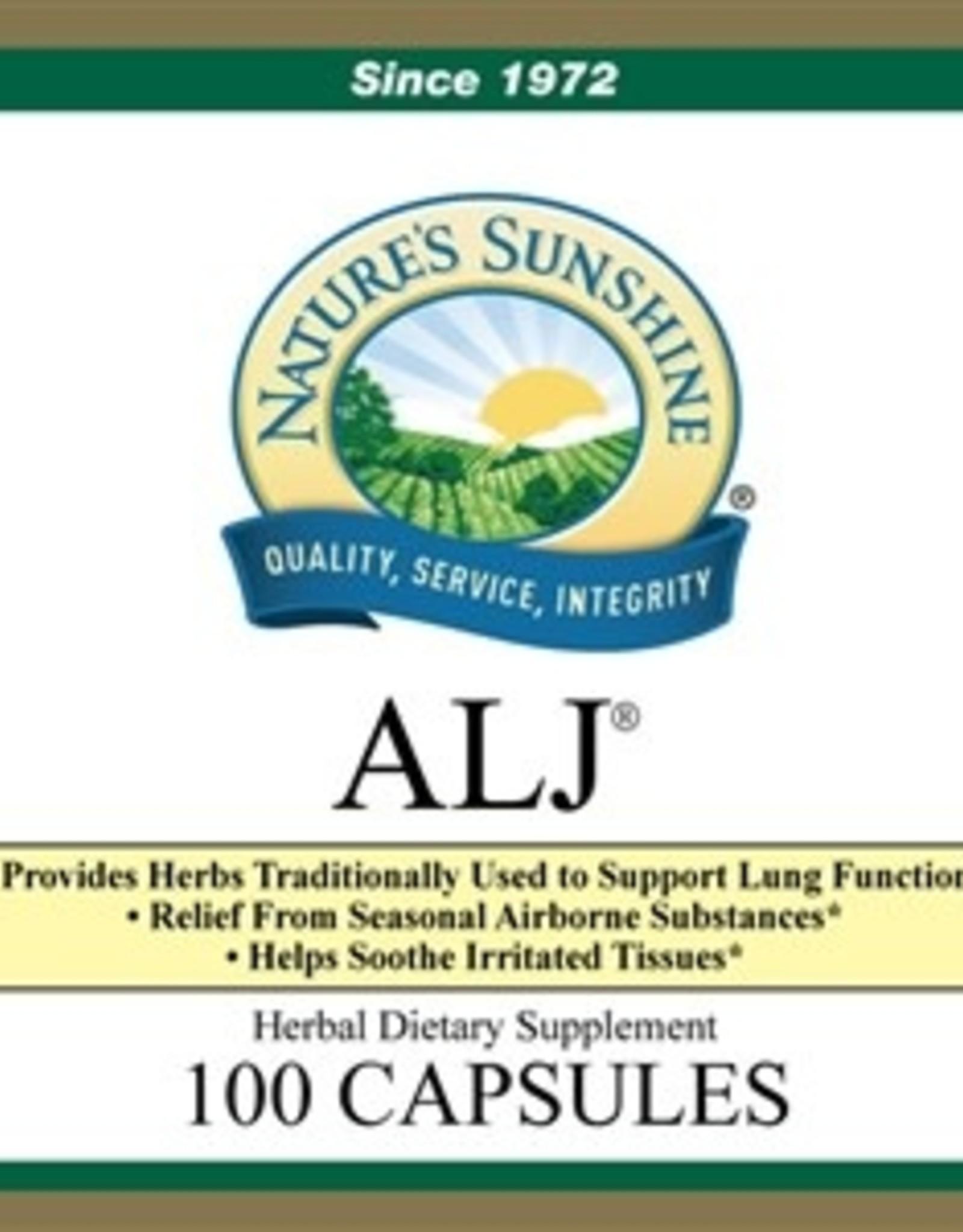 Nature's Sunshine Seasonal Allergy (formerly ALJ®) (100 caps)