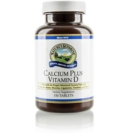 Nature's Sunshine Calcium Plus Vitamin D (150 tabs) (ko)