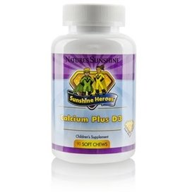Nature's Sunshine Children's Calcium Plus D3