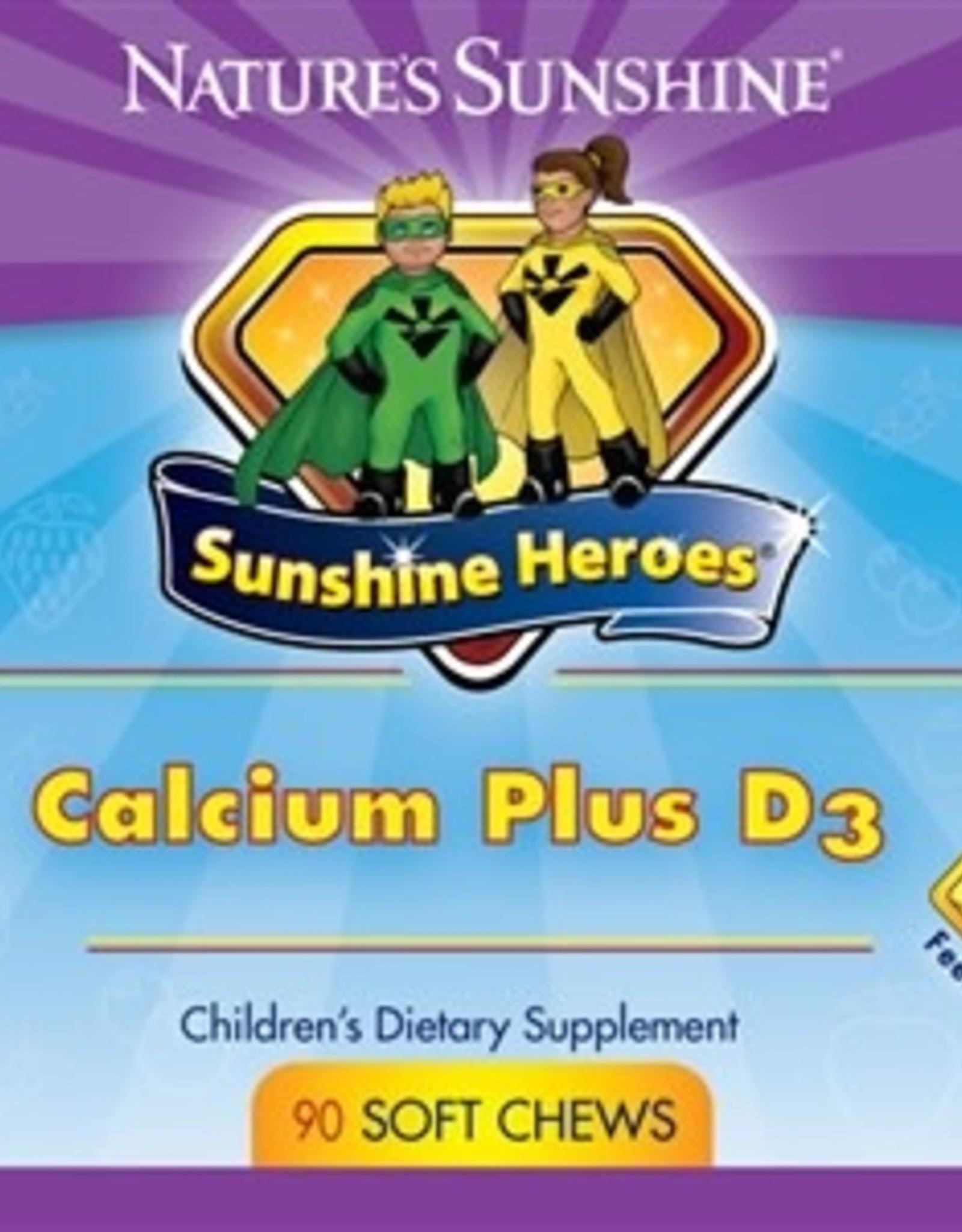 Nature's Sunshine Children's Calcium Plus D3